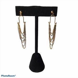 Fifth Avenue earrings 14k posts